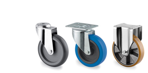 Castors, Wheels & Fittings
