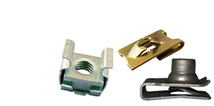 Panel Trim &amp; Spire Fasteners (Metal)
