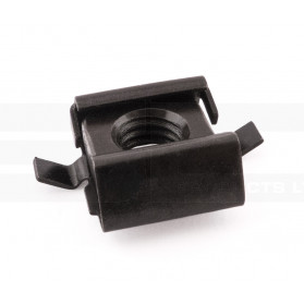 M8 Notched Cage Nut – Universal