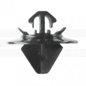 White Side Moulding Clip – Citroen: 8565.48, Fiat: 9408565488