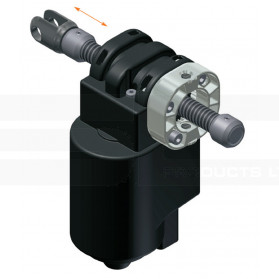 Electric linear actuator with spindle 4643