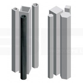 Profile tubes and rods