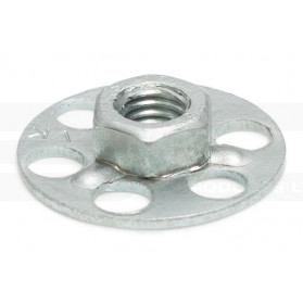 Hexagonal Nut on Round Base Plate - Blind