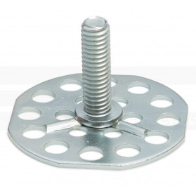 Threaded Stud on Octagonal Base Plate