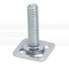 Threaded Stud on Square Base Plate