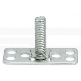 Threaded Stud on Rectangular Base