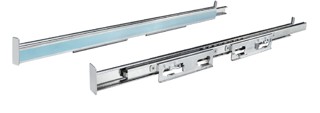 telescopic rails